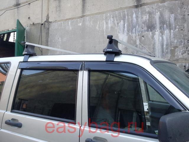 Багажник на крышу уаз патриот без рейлингов