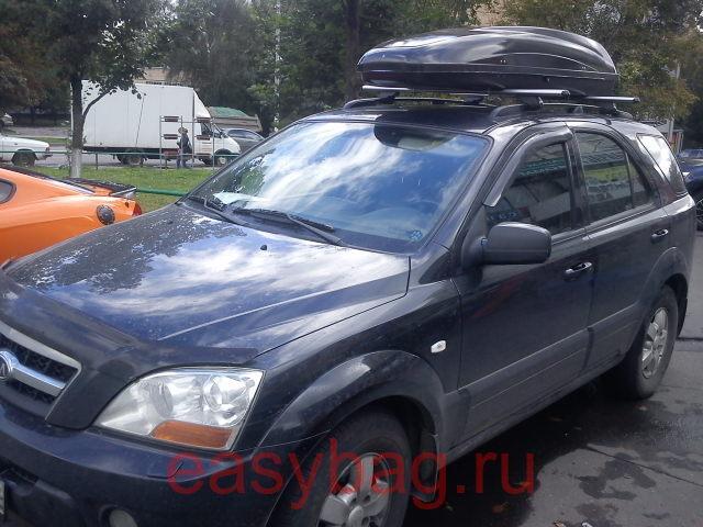 Бокс на крышу автомобиля atlant discovery